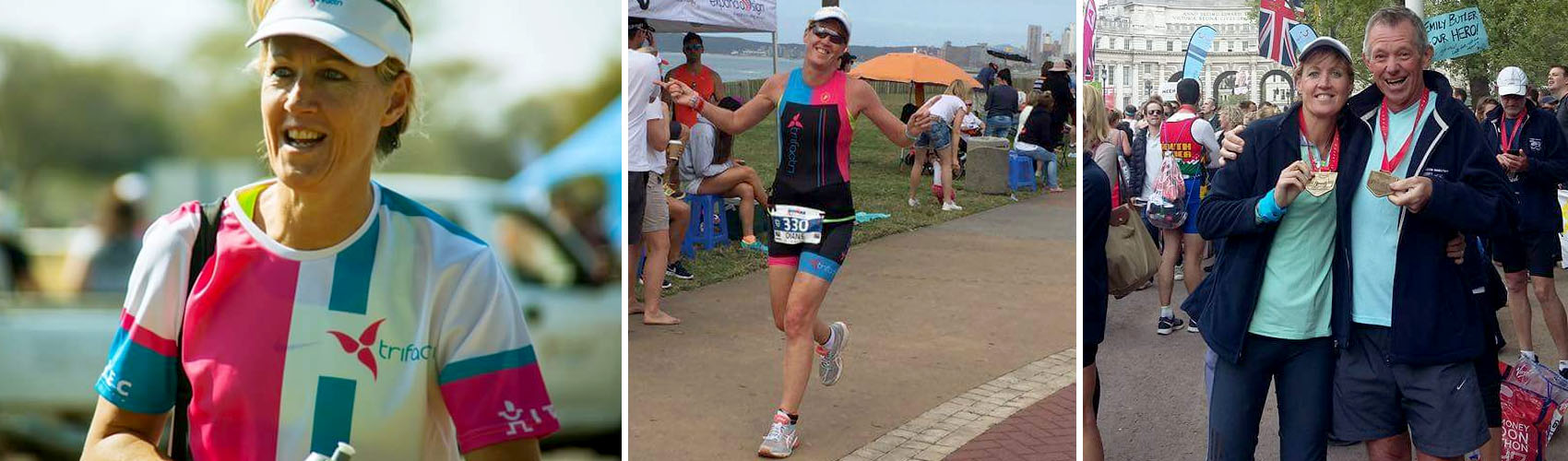 Diane Kelway - Sweet Addict, MiFitLife Client and Marathon Runner