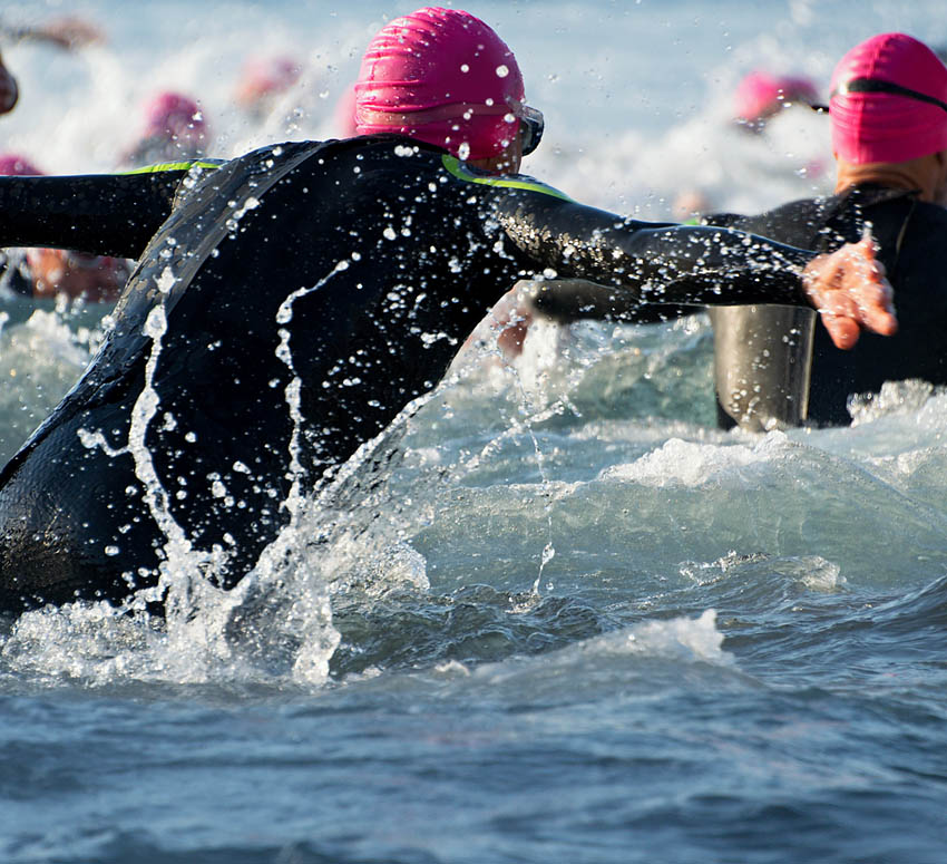 Triathlon Swimming from Scratch